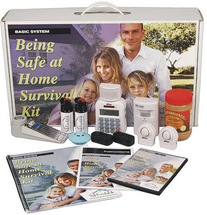 Being Safe At Home Survival Kit