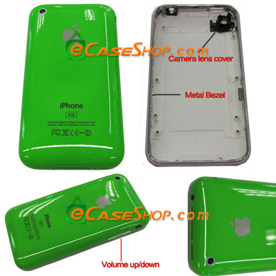 iPhone 3G 16GB Back Faceplate Cover with Bezel