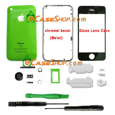 16GB iPhone 3G Fascia Cover Replacement Green