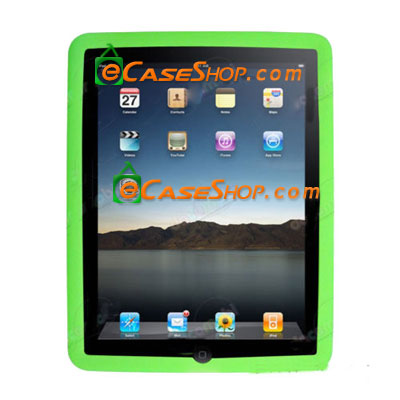 Apple iPad Silicone Cover Case Green