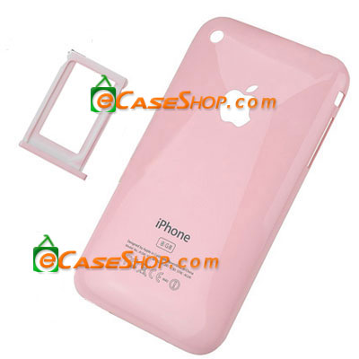iPhone Back Housing Cover for 3G 8GB baby pink