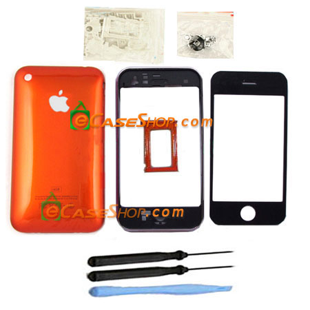 Orange iPhone 3G 16GB Replacement Housing Case