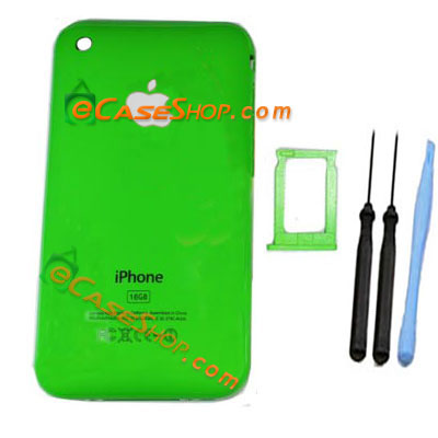 Green iPhone 3G Back Cover Housing