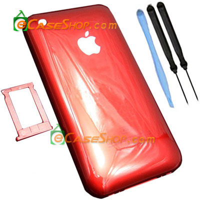 Red iPhone 3G 8GB Back Cover