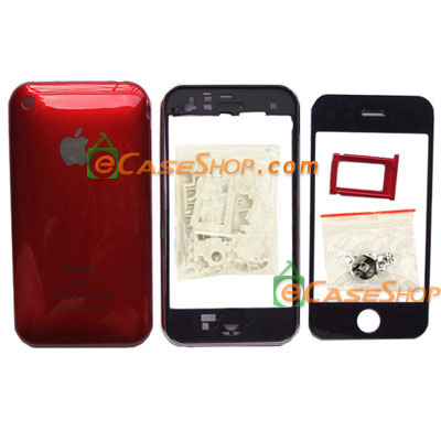 Housing Replacement for iPhone 3G 16GB Red