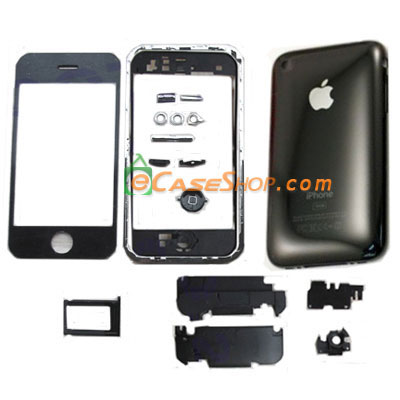 Housing Replacement Cover for iPhone 3G 16GB Black