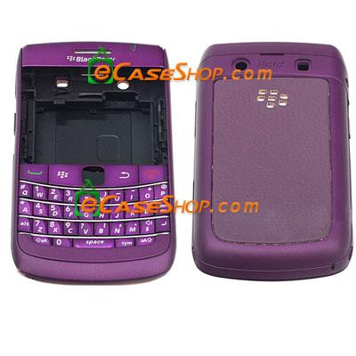 blackberry bold 9700 housing replacement case full purple. Black Bedroom Furniture Sets. Home Design Ideas