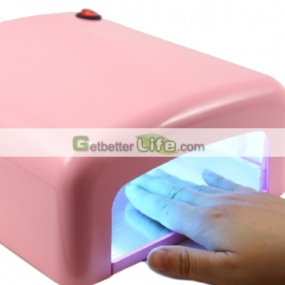 36W UV GEL NAIL LAMP -PINKcolor,Induction