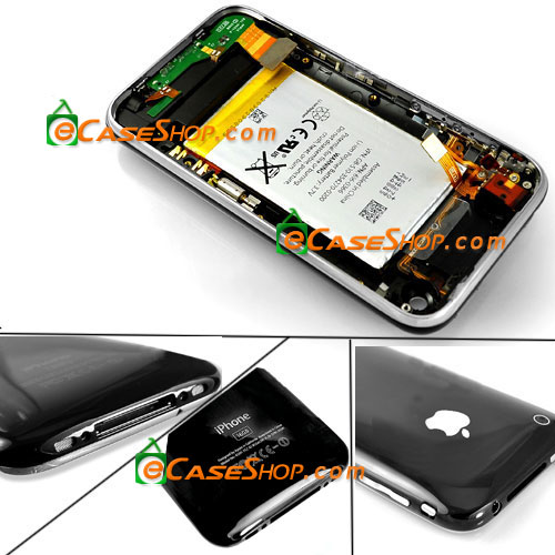 Back Cover Housing Assembly Bezel for iPhone 3G