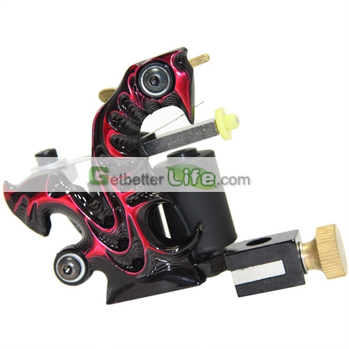 handmade tattoo machines. Handmade Antique Solid Iron Tattoo Machine Shader