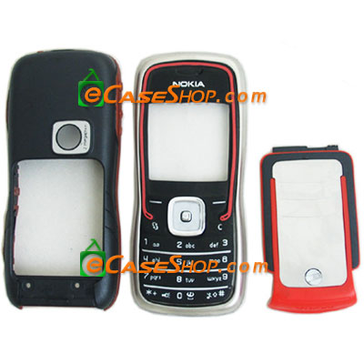 Nokia 5500 Faceplate Housing Cover Red
