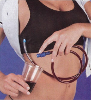 Papa Bert WineRack Flask-Bra(Medium)