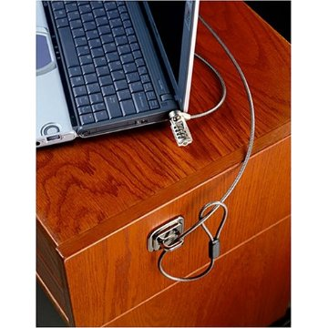 CablesToBuy™ Laptop Notebook Security Cable Lock and Base plate Set2