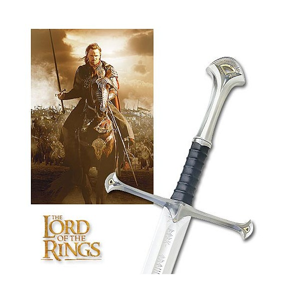 Anduril lord of the rings sword replica