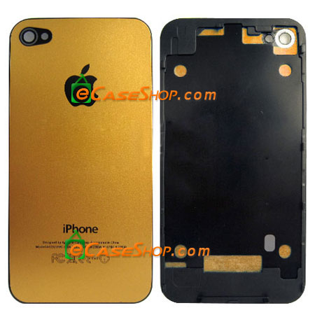 iPhone 4 Complete Back Battery Cover Gold
