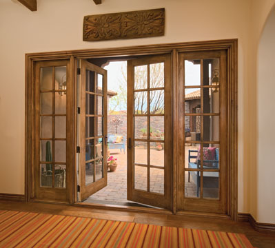 Jeld wen exterior french doors for Wood french patio doors