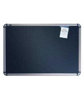 quartet-b367t-euro-black-embossed-foam-bulletin-board