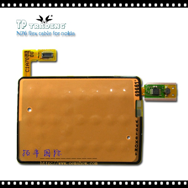 N76 flex cable for nokia