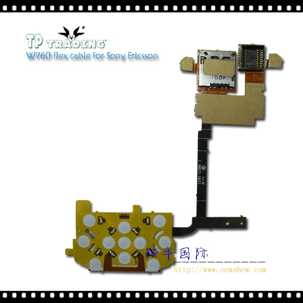 W760 flex cable for Sony Ericsson
