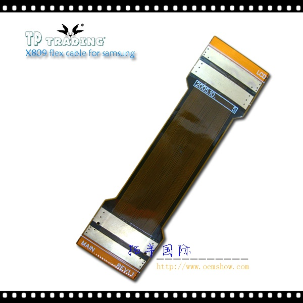 X809 flex cable for samsung