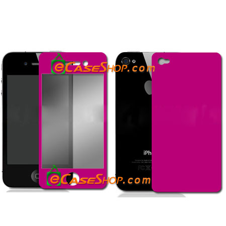 iPhone 4 Full LCD Screen Protector front/back