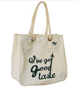 Custom polyester-cotton blend Tote Bag