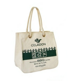 Custom polyester-cotton blend Tote Bag-1