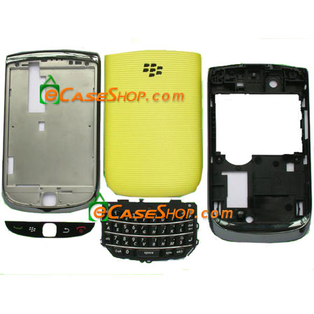 Yellow Blackberry Torch 9800 Housing Case