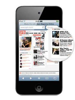 Cyber monday deals on ipods touch