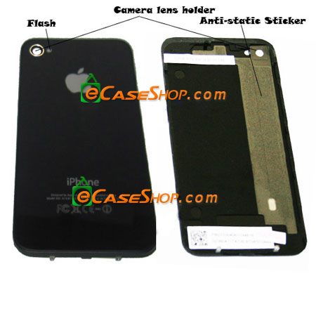 iPhone 4 Replacement Back Cover Glass