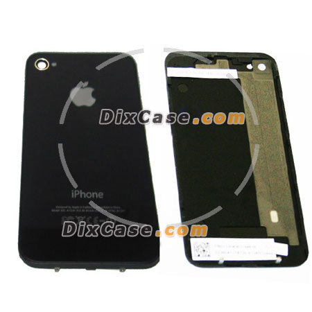 iPhone 4 Rear Panel Glass Black