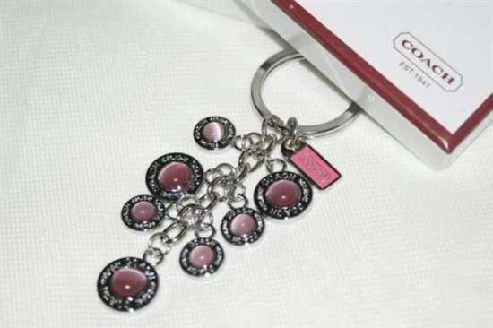 WHOLESALE NEW COACH DANGLING HEART CHARM KEYCHAIN