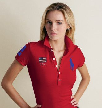 Retail Women's Ralph Lauren polo Tshirt