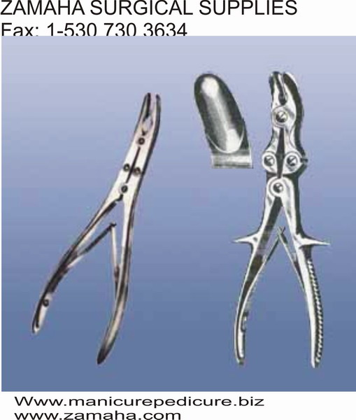 bone forceps, bone holding forceps, pliers, surgical instruments