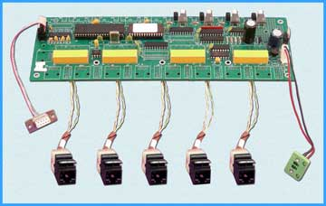 Model 7423 RJ45 CAT5 A/B/C/D Switch Board Only