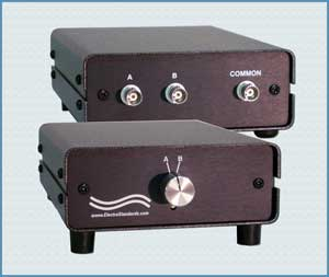 Model 8021 BNC Coxial A/B Switch, Manual