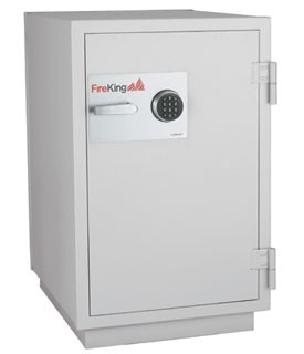 FireKing DM4420-3PL 3-Hour Fire with Impact-Rated Data Safe