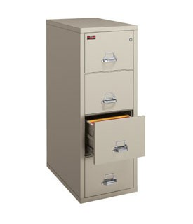 FireKing 4-1956-2 2 Hour Vertical File Filing Cabinet