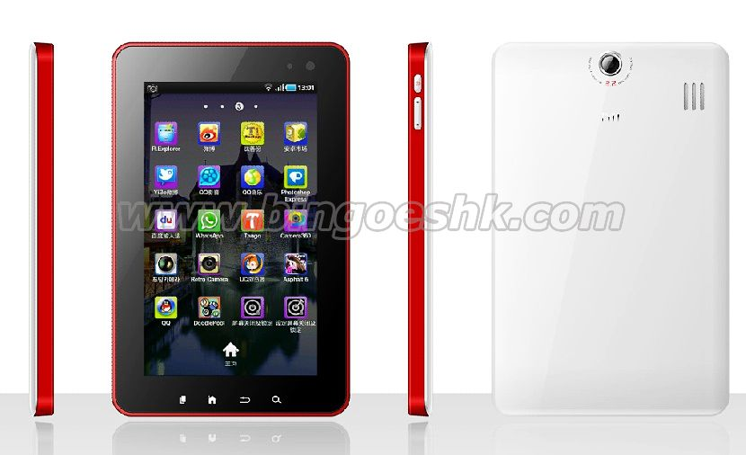 7''Android NEC A9 Dual core 3G WCDMA Phone mid